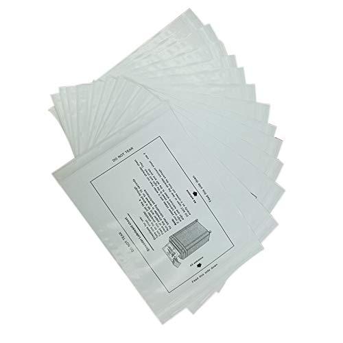 Kuinayouyi 12 StüCke Papier Aktenvernichter Schmier BllTter Shredder Schmier L Tragbares Papier Typ Schmier L FüR