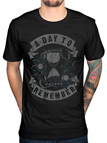Official A Day to Remember Hourglass T-Shirt Homesick for Those Who Have Heart