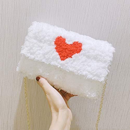 AXAXA Handgemachte Tasche DIY Material Bag Hyuna Dasselbe Wollnetz Selbstgemachtes gewebtes Tasche Schulter Messenger Weibliche Tasche fertig,C