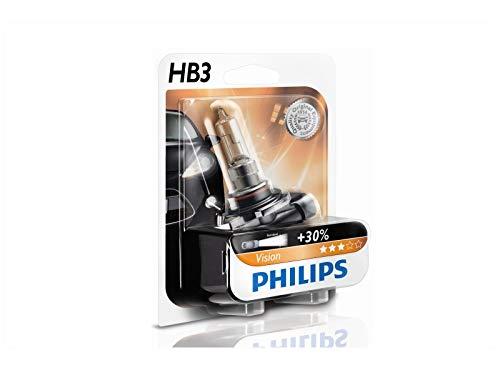 2 BOMBILLAS PHILIPS VISION HB3 P20d LAMPARAS 12V 60W + 30% LUZ COCHE MOTO SUV 4x4 FURGONETA FURGO CAMPER MAXIMA CALIDAD PHILIPS