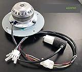 ventilador extractor humos–estufa de pellets caf15°C-004°F O caf15°C-015°F