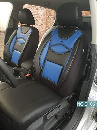 Coprisedili Ford Fiesta conducente & passeggero a partire dall\'anno di costruzione 2017 Codice colore: D106