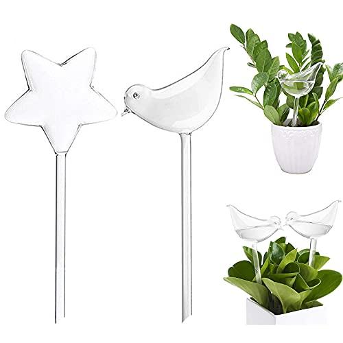 Bolas de riego de cristal, flores, riego automático para plantas de interior,...