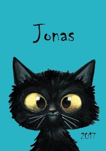 Jonas - Katzen-Kalender 2017: DIN A5 - Katze - Wochenkalender
