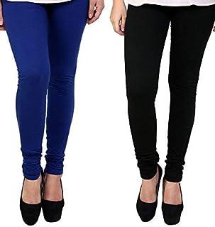 Ezee Sleeves Women's Cotton Leggings Combo Set of 2 | Legging for Women | Legging Combo Set | Cotton Leggings