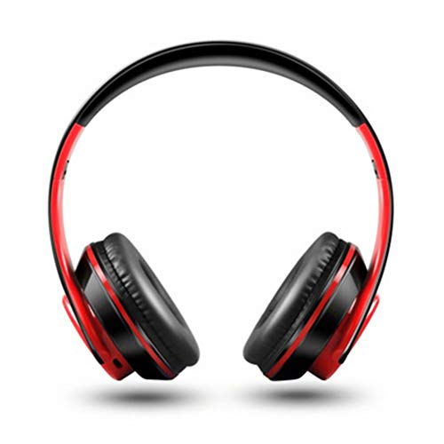 Auriculares Bluetooth auriculares inalámbricos estéreo plegable auriculares micrófono auriculares auriculares auriculares micrófono manos libres reproductor MP3