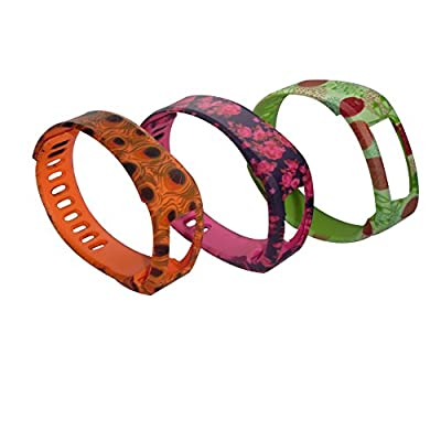 BefineNewest Replacement Band With Clasp for Garmin Vivofit Only/No tracker/Wireless Activity Bracelet Sport Wrist band Garmin Vivofit Bracelet Sport Arm Band Armband(Bright Color Band + Metal Clasp)