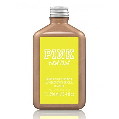 Victoria's Secret Pink Luminous Body Bronzer 8.4 Oz Total Flirt