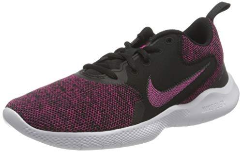 Nike Damen Flex Experience Run 10 Running Shoe, Black/Fireberry-Dark Smoke Grey-Iron Grey, 37.5 EU