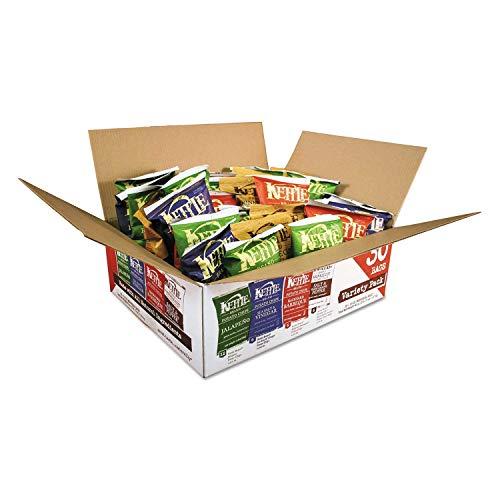 Kettle Brand Potato Chips, Assorted Flavors, 1.5 oz Bag, 30/Carton (DFD12592)