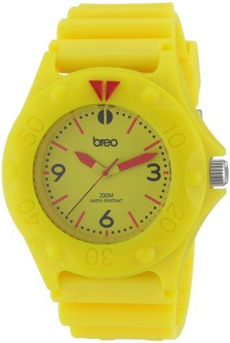 Breo B-TI-PRS6 - Correa de Reloj Unisex de plástico, Color Amarillo
