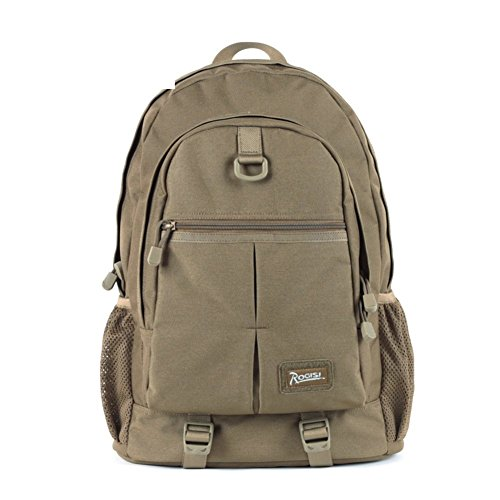 Backpack éclairage léger Sac à Dos de randonnée/extérieur étanche Sacoche Kaki 30L