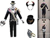 コスプレ 第五人格 Identity V アイデンティティ5 ポストマン ビクター・グランツ 鍵盤 コスプレ衣装風