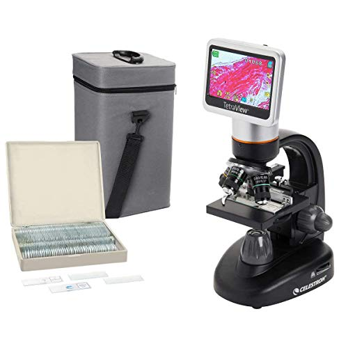 44347 - Tetraview LCD Digital Microscope - Celestron Tetraview LCD Digital Microscope - Each