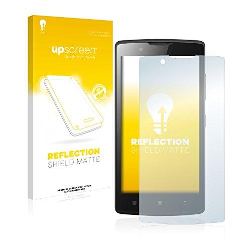 upscreen Entspiegelungs-Schutzfolie kompatibel mit Lenovo A2010 – Anti-Reflex Bildschirmschutz-Folie Matt
