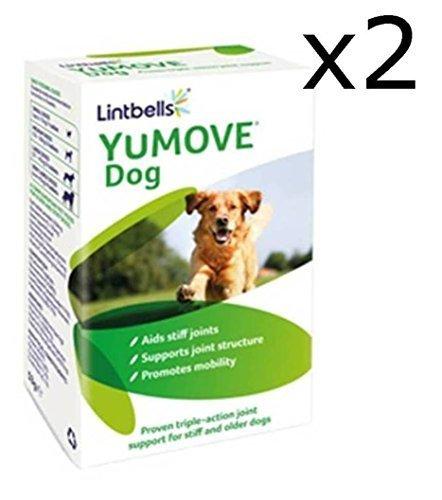 Lintbells YuMOVE Hund Gelenk-nahrungsergänzung für Steife und ältere Hunde - 240 (2x 120) Tabletten