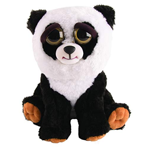 Mac Due Italy Peluche Feisty Pets Panda, Colore Bianco Nero, 323612