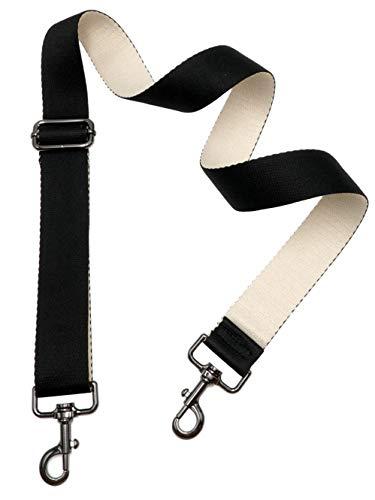 BENAVA Schulterriemen für Taschen Schwarz | Trageriemen für Handtaschen Bag Strap | Bunte Taschengurte Breit Verstellbar