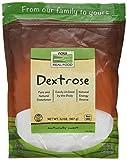 Now Foods Dextrose Standard - 3 Paquetes de 907 gr - Total: 2721 gr
