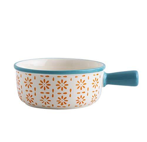WXXT ramequines,moldes Horno,ramequines thermomix,Plato pequeño de cerámica para Postre con pudín Apto para lavavajillas(5 Opciones de Estilo)