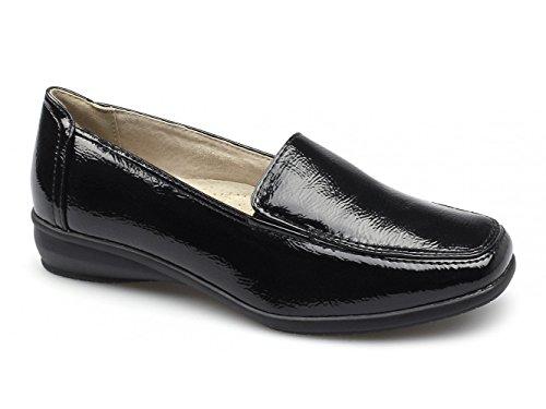 Dr Keller - Zapatos de Vestir para Mujer Negro Negro
