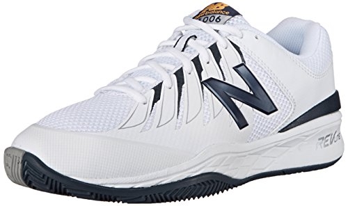 New Balance Men's MC1006V1 Black/White Tennis Shoe - 10 D(M) US