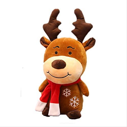 Peluche Nuovo Morbido Cervo Di Natale Peluche Renna Cervo Peloso Decorazione Natalizia Per La Casa Ornamento Felice Anno Nuovo Regalo Di Natale Regalo Per Bambini
