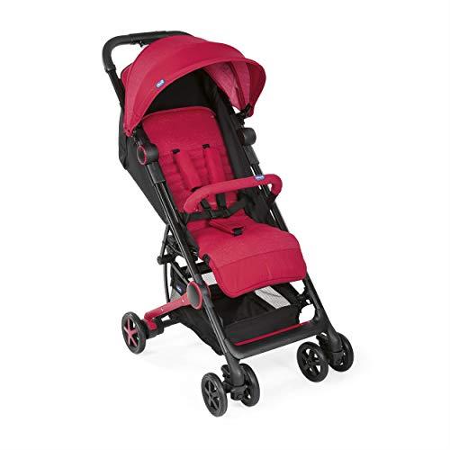 Chicco Miinimo 3 - Silla de paseo ultra compacta y ligera, solo 6 kg, color roja (Red Passion)