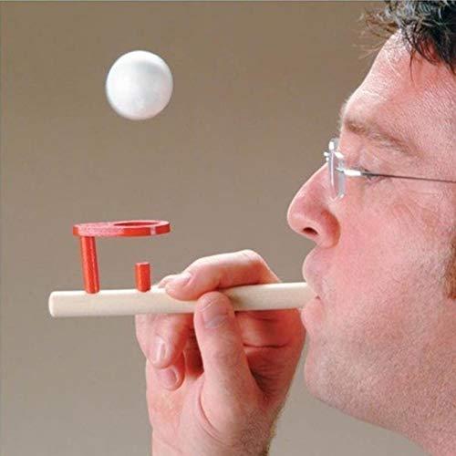 Deanyi Holzspielzeug Holzspielzeug Gadgets Fun Holzverarbeitung Balancing Blowing spielt Erwachsene Kinder Spielzeug Spielen für Kindergartenkinder