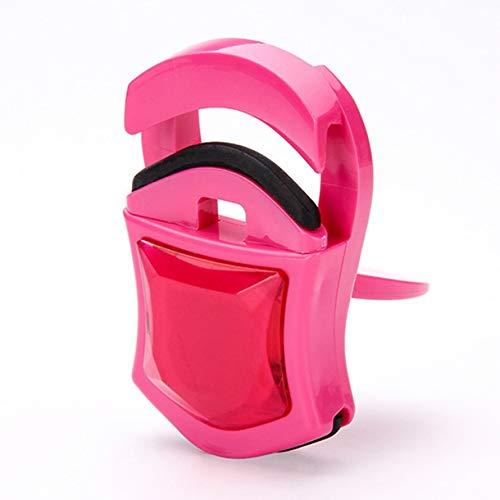 En forme de voiture Portable Mini Cils Curler Lady Femmes Nature Curl Beau Style Curl Cils Beauté Outils Cosmétique (Couleur: rose)
