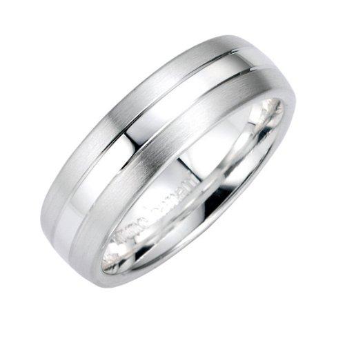 Bruno Banani Unisex-Ring 925 Sterlingsilber Gr. 66 49/91009
