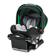 The only Newborn to 2 Year Infant Car Seat; Helps protect rear-facing infants from 4-40 pound a full 2 years Base adjusts, with 8 recline positions, for most leg room Height adjustable headrest with no re-thread harness Click Connect technology offer...