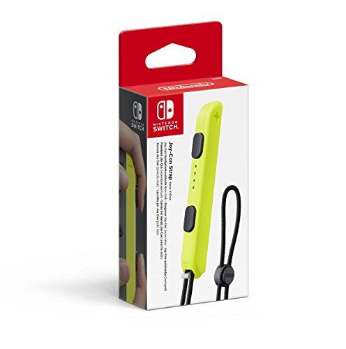Nintendo - Correa Joy-Con, Color Amarillo (Nintendo Switch)