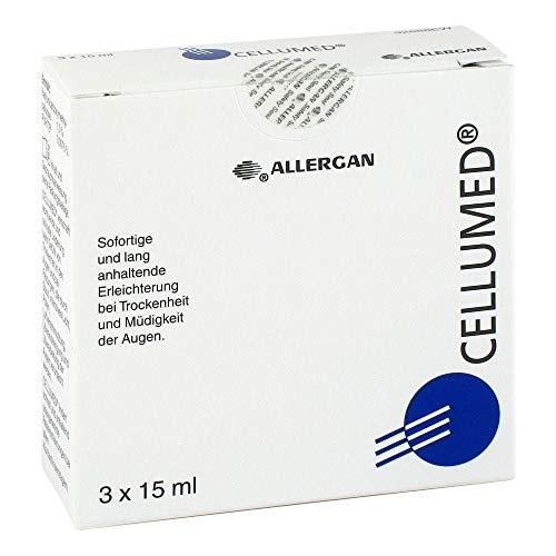 Cellumed, 3X15 ml