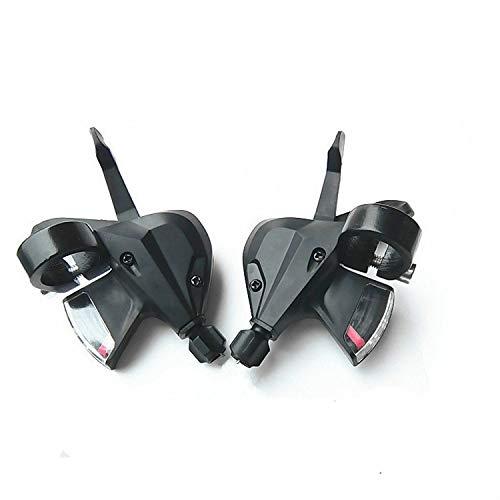 Gangschaltungs/Bremshebel-Set Fahrrad Schalthebel MTB Trigger-Gang-Schaltung Bremshebel 3x8 Geschwindigkeit mit Schaltkabel Fahrradbremse Schalthebel