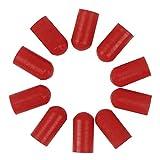 Festnight 10pcs Drumstick Silent Tips Mute Drum Stick Mallet Protezioni Covers Materiale in silicone Drum Set Accessori
