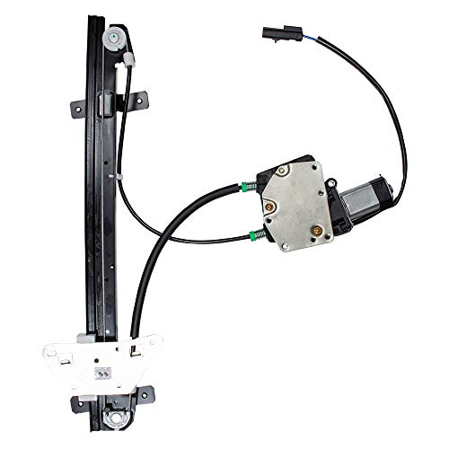 Brock Replacement Driver Front Power Window Regulator with Motor Assembly Compatible with 2000-2004 Dakota Quad Cab Pickup Truck 1998-2003 Durango