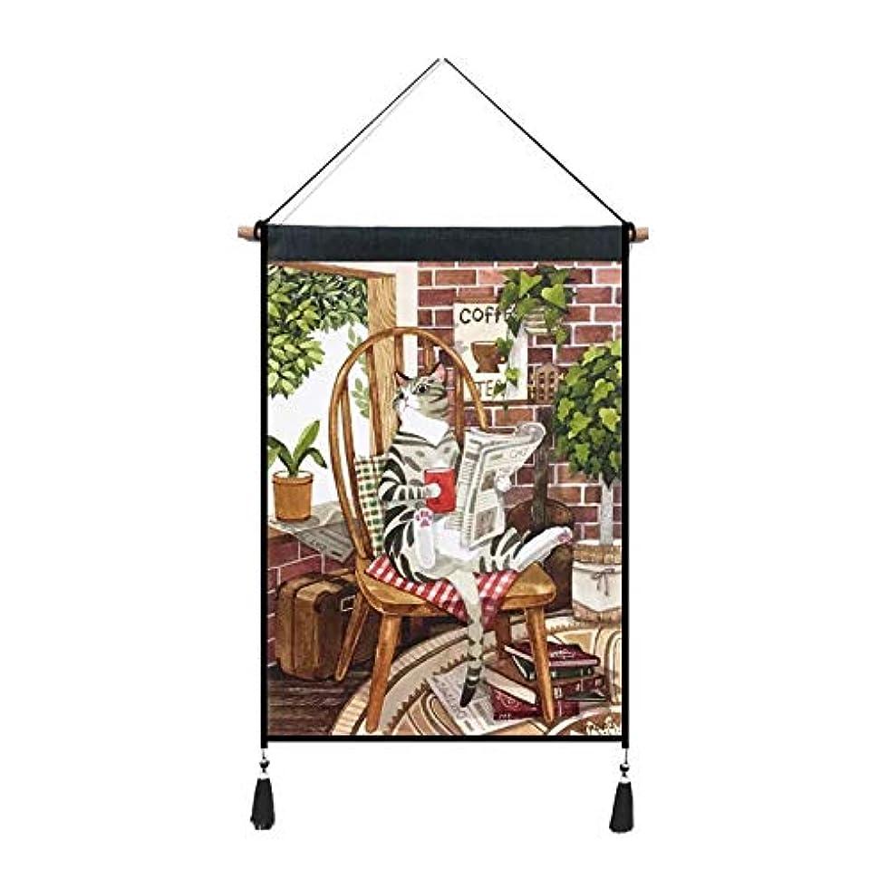 魅惑する欠乏神経障害NANA7 タペストリー 可愛い 猫 ペット インスタグラム風 壁飾り インテリア デコレーション ins風 部屋 掛け物 トップ飾り 45*65cm (部品セット付き)MM08