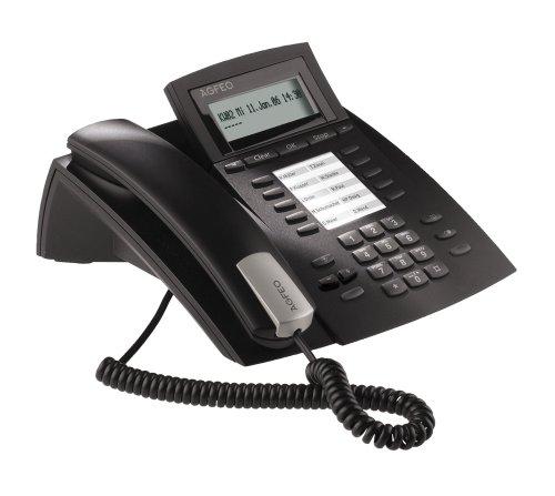 Agfeo ST21 UPO Systemtelefon M. Beweglichem Display, schwarz