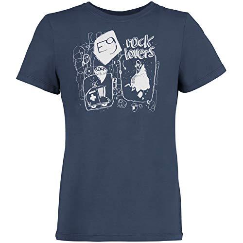 E9 Camiseta infantil Rescue, azul marino