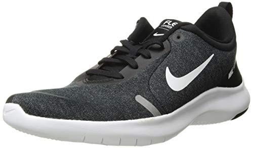 Nike Women's Flex Experience Run Shoe, Black/White-Cool Grey-Reflective Silver, 8 Wide US