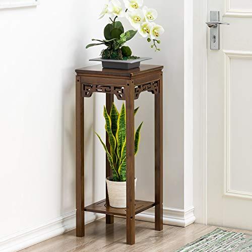 Support de fleurs Bamboo Landing Multi-layer Retro Rack de succulentes intérieur Rack de pot de balcon Etagère de salon Hauteur: 60cm / 76cm / 92cm (taille : 30 * 30 * 76cm)