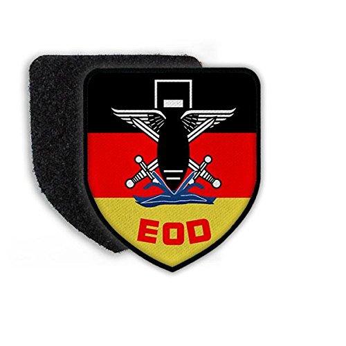Copytec Patch BW EOD Bundeswehr Pionier Kampfmittelbeseitigung Explosive Ordance Disposal Wappen Logo Abzeichen Aufnäher German #21643