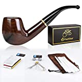 FeelGlad Pipes a Tabac en Bois, 5 in 1 Set de Pipes à Tabac en...