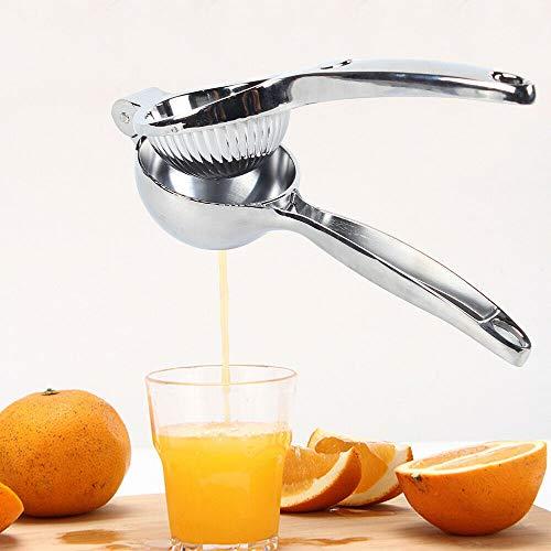 Juicer - Exprimidor manual de limón, aleación de zinc, exprimidor de mano adecuado para limones grandes, limas y naranjas pequeñas