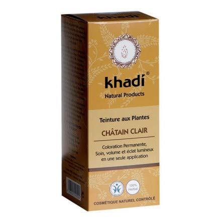Khadi Teinture aux Plantes Châtain Clair 100 g