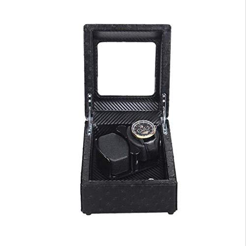 LJYY Enrollador de Reloj, Dispositivo de Mesa de agitación Reloj mecánico Caja de Reloj Oscilación de Cadena giratoria automática Agitador de Reloj mecánico - Multicolor Opcional