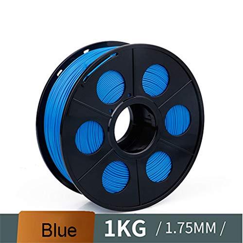 QDTD 3D Consumibles De Impresión 3D Pla1.75mm 1,3 Kg Material De Impresión De La Pluma Material Línea Azul