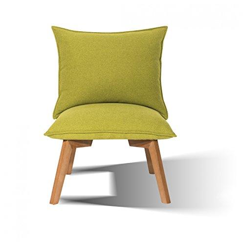 Sit & Chairs pieds Hévéa mittelbraun Chaise Vert