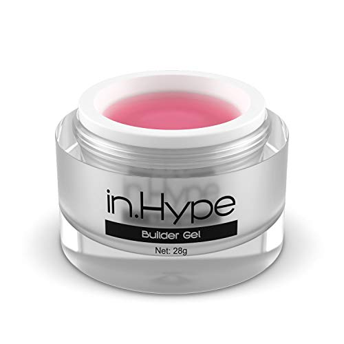 In.Hype Sculpting Camouflage UV Builder Gel - Milky Pink